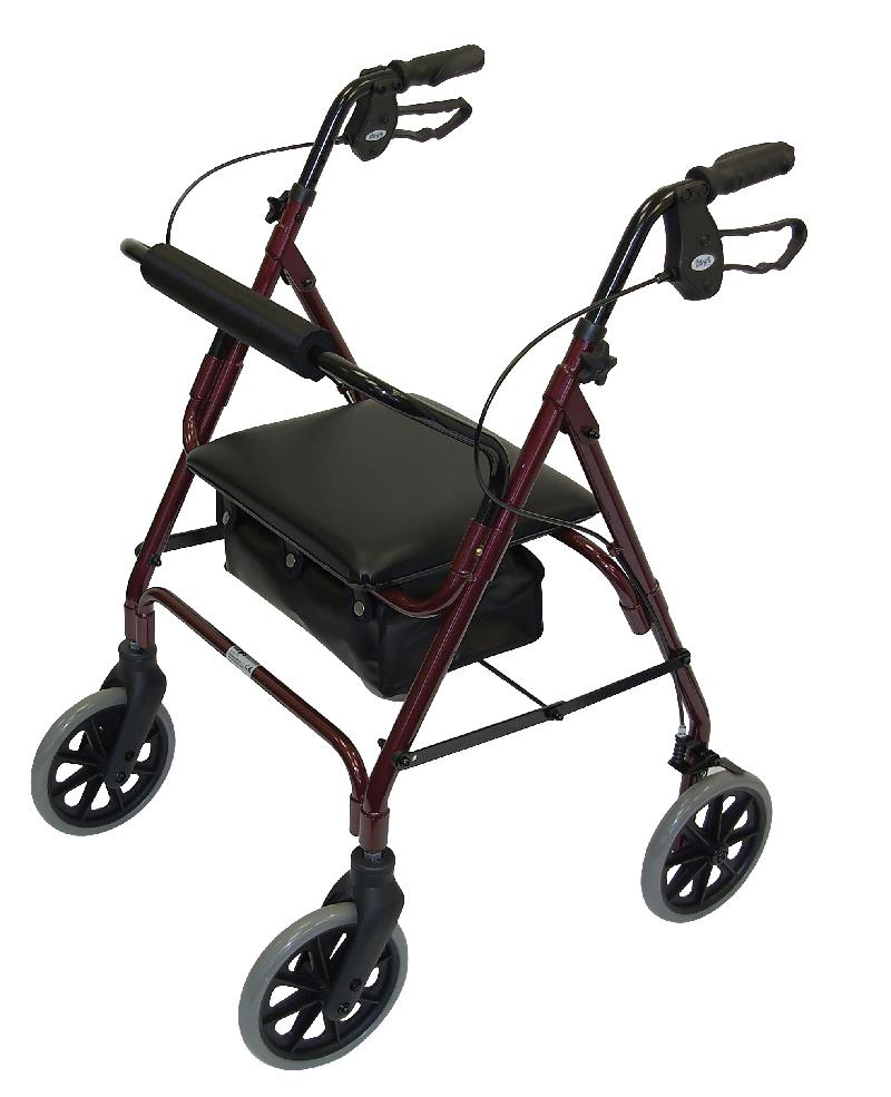 Lightweight Safety Mobility Walkers (Red)