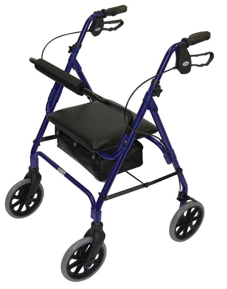 Lightweight Safety Walkers Blue