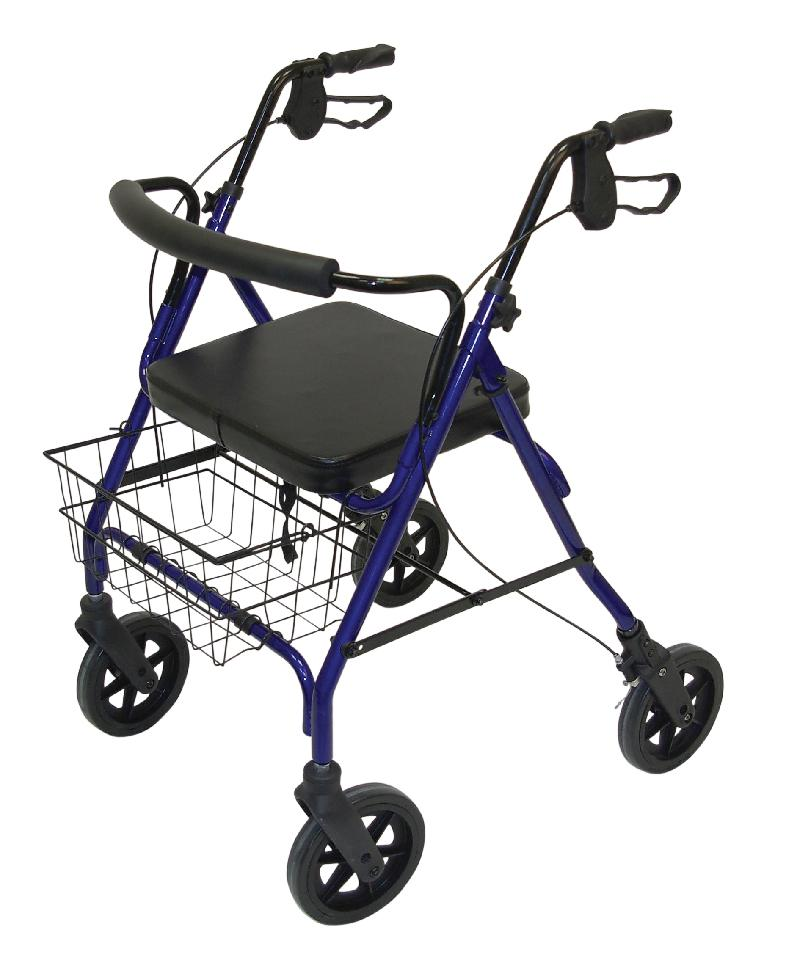 Bariatric Heavy Duty Mobility Walkers (Blue)