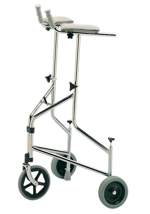 Tri Wheel Walker with Arthritic Attachments