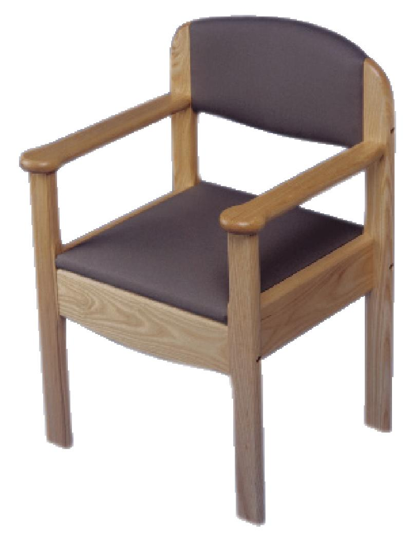 Royle Wooden Commode Chair