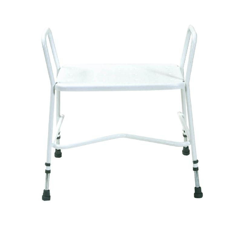 Heavy Duty adjustable height shower stool