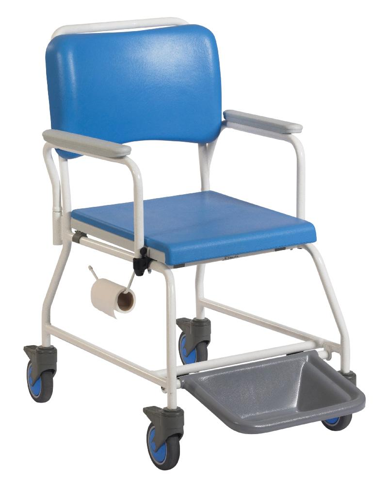 "Atlantic Commode & Shower Chair (18"" Seat Width)"