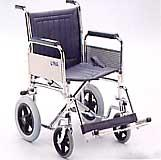 Transit Wheelchair with Detachable Armrests and Footrests