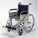 Self-Propelled Wheelchair with Detachable Armrests and Footrests and Folding-Back